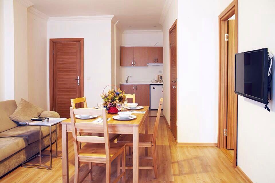 kitchen taksim istanbul apart