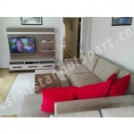 TL2850 / 3br – 120m2 – Fully furnished flat 3+1 in sisli near metro-metrobus (sisli)